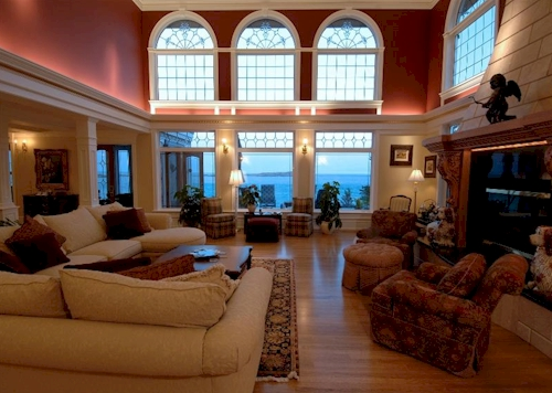 living room mansion estate of the day 15 5 million muir mansion in 10787