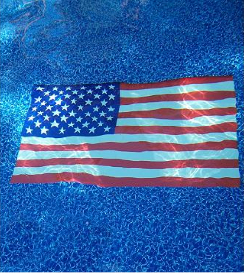 4th Of July Decor Frontgate American Flag Pool Mat