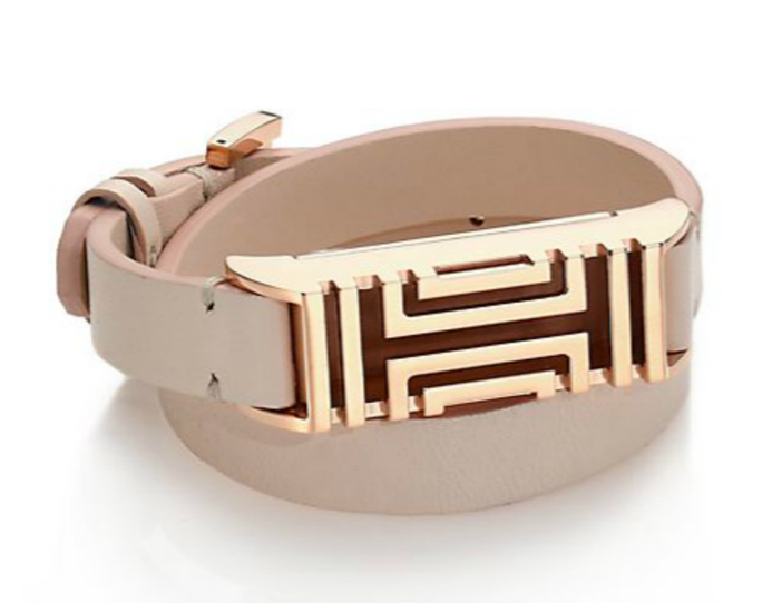 333d9cd7a14 ... Double Wrap Bracelet. Get Fit And Stay Stylish With The Tory Burch For  Fitbit Leather