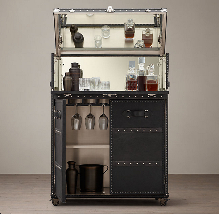 Restoration Hardware Mayfair Bar Cart 2