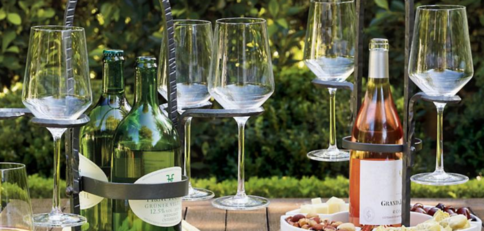 Frontgate Weston Wine Caddy