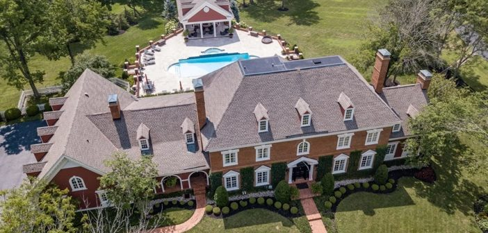 Estate of the Day: $6.7 Million Georgian Manor Equestrian Estate in Simpsonville, Kentucky
