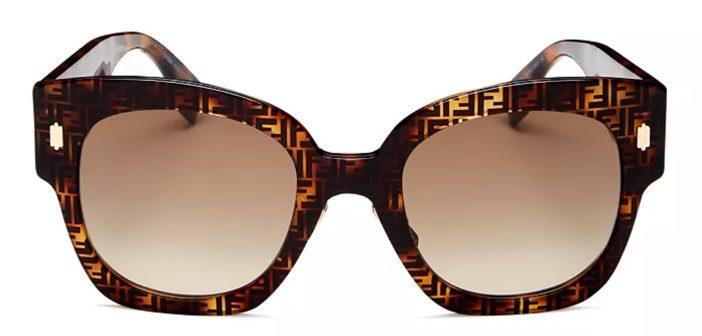 NEW Fendi Women's Square Sunglasses