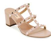 Shoe of the Day: Valentino Garavani Rockstud Caged 60mm Slide Sandals