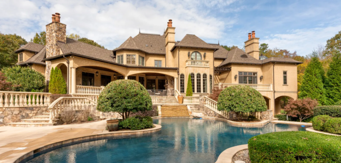 Estate of the Day: $3.2 Million Exquisite Gated Luxury Estate in Waxhaw, North Carolina
