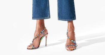 Shoe of the Day: Christian Louboutin Rosapetra Sandal