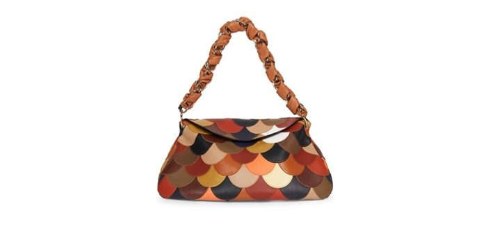 Chloé Juana Scalloped Leather Hobo Bag