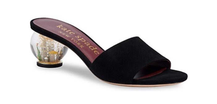 Shoe of the Day: Kate Spade New York Snow Globe Slide Sandal